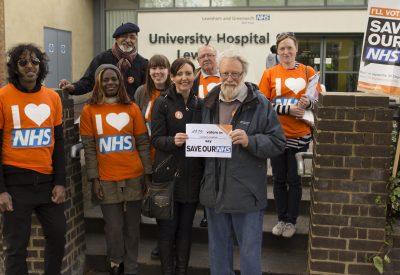 NHS campaigner