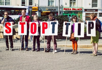 Stop TTIP Placards