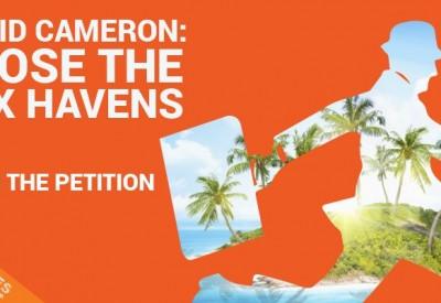 tax havens tweet orange