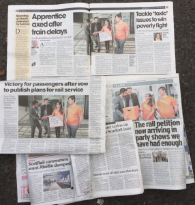 Some of the coverage we received in this week's papers