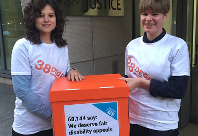Petition hand in to the Ministry of Justice