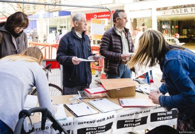 Andy petition stalls