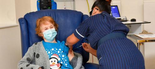 Margaret Keenan vaccine